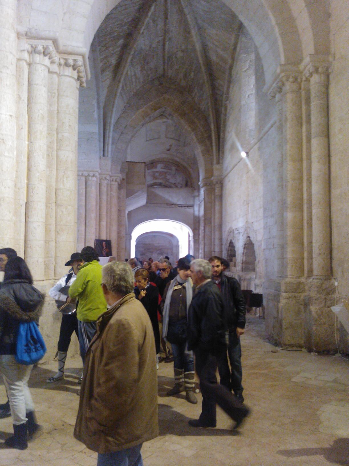 Exposición en el Monasterio de Palazuelos