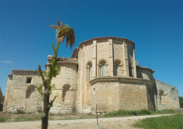 Fachada Norte del Monasterio de Palazuelos
