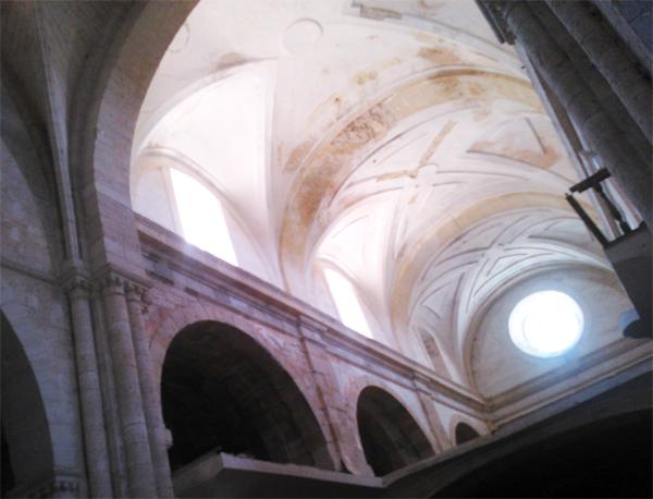 Ventanales en el Monasterio de Palazuelos